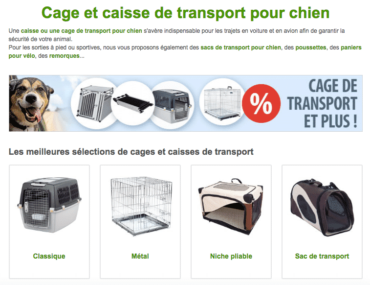 cage transport zooplus